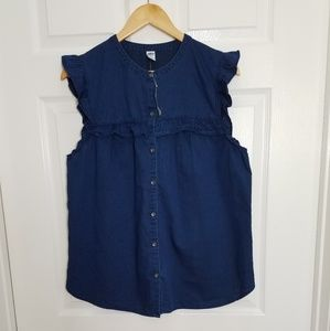 Old Navy Ruffle-Trim Sleeve